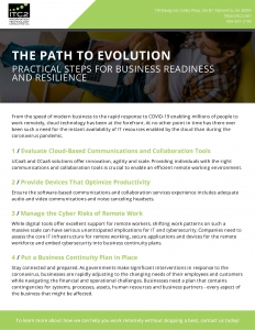 Image of PDF of the Path to Evolution Resource Library item