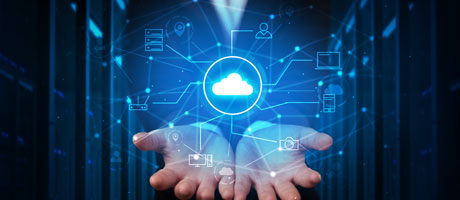 Digital cloud with services shifting to the cloud